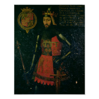 John of Gaunt, Duke of Lancaster Poster