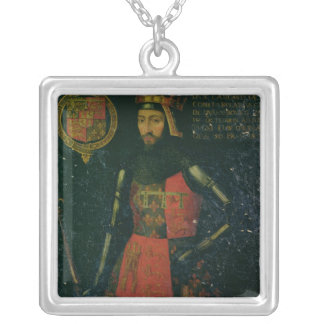 John of Gaunt, Duke of Lancaster Silver Plated Necklace
