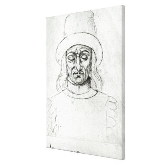 John of Luxembourg Canvas Print