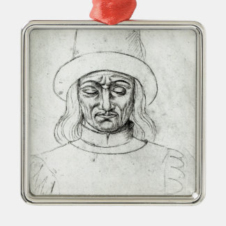 John of Luxembourg Metal Ornament