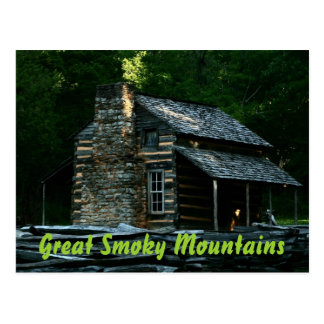 John Oliver Cabin - Great Smoky Mountains Postcards