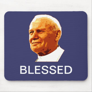 John Paul II BLESSED Mouse Pad