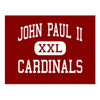 John Paul II - Cardinals - High - Plano Texas Postcard