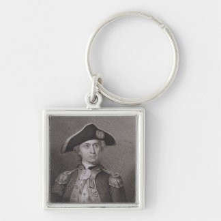 John Paul Jones (1747-92), engraved by James Barto Keychain