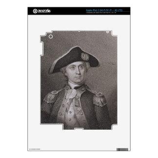 John Paul Jones (1747-92), grabado por James Barto iPad 3 Skin