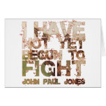 John Paul Jones Felicitación