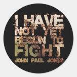 John Paul Jones Pegatinas Redondas