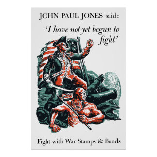 John Paul Jones WW2 Poster