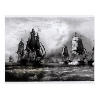 John Paul Jones's 'Ranger' Ship, 1793 Postcard