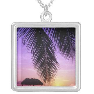 John Pennekamp State Park, Florida Keys, Key Square Pendant Necklace