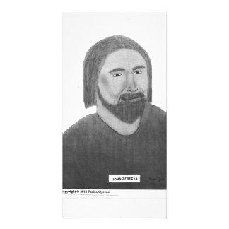 John Custom Photo Card