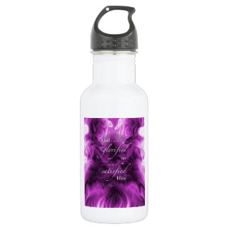 John Piper Quote Water Bottle