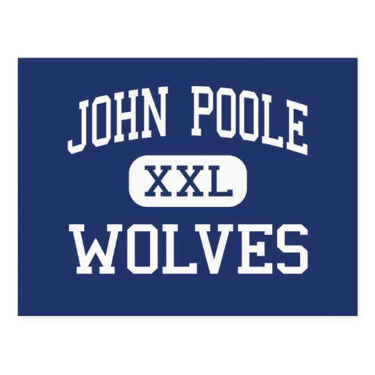 John Poole Wolves Middle Poolesville Postcard