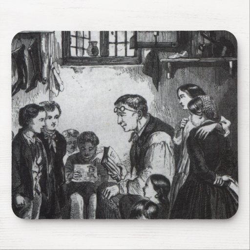 John Pounds teaching children in his home Mouse Pads
