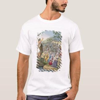 John Preaching in the Wilderness, from a bible pri T-Shirt