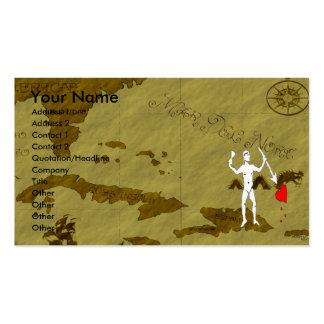 John Quelch Map #6 Business Card