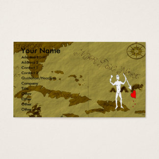 John Quelch Map #6 Business Card