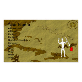 John Quelch Map #6 Double-Sided Standard Business Cards (Pack Of 100)