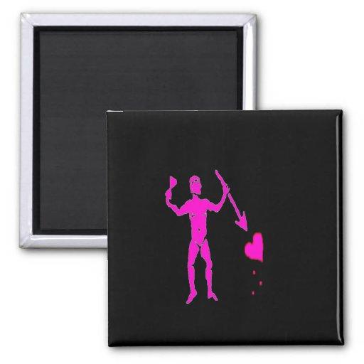 John Quelch-Pink Fridge Magnet