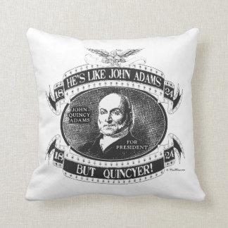 John Quincy Adams 1824 Campaign Throw Pillow