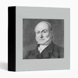 John Quincy Adams 3 Ring Binder