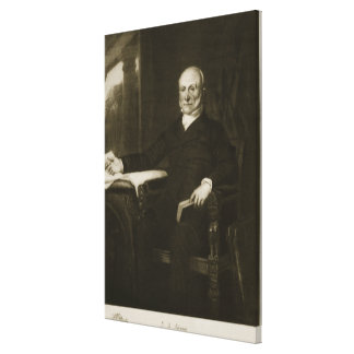 John Quincy Adams, 6th President of the United Sta Canvas Print
