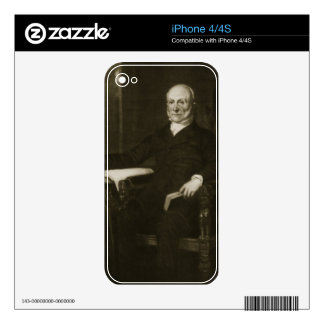 John Quincy Adams, 6th President of the United Sta iPhone 4 Skin