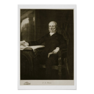 John Quincy Adams, 6th President of the United Sta Poster