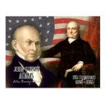John Quincy Adams - 6to presidente de los E.E.U.U. Tarjeta Postal