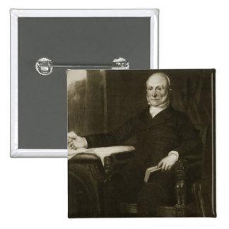 John Quincy Adams 6to presidente del Sta unido Pin