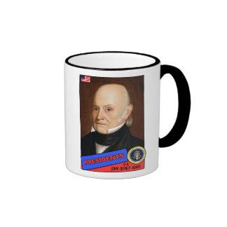 John Quincy Adams Baseball Card Mugs