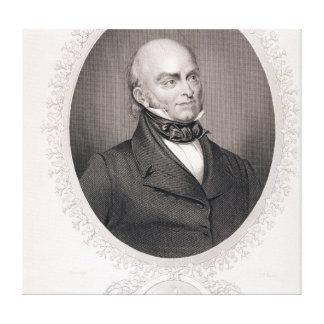 John Quincy Adams Canvas Print
