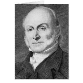 John Quincy Adams Card