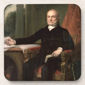 John Quincy Adams Beverage Coasters
