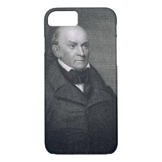 John Quincy Adams, engraved by John Wesley Paradis iPhone 8/7 Case