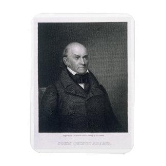 John Quincy Adams, engraved by John Wesley Paradis Magnet