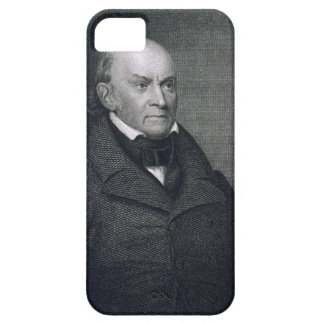 John Quincy Adams, grabado por John Wesley Paradis iPhone 5 Case-Mate Protector