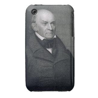 John Quincy Adams, grabado por John Wesley Paradis iPhone 3 Case-Mate Protectores