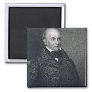 John Quincy Adams, grabado por John Wesley Paradis Imanes Para Frigoríficos