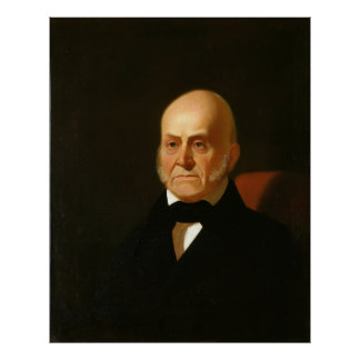 JOHN QUINCY ADAMS Portrait by George Caleb Bingham Poster