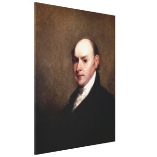 JOHN QUINCY ADAMS Portrait by Gilbert Stuart Print