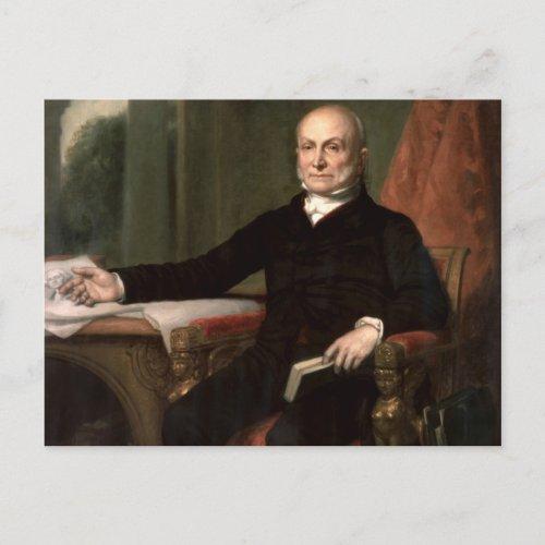 John Quincy Adams zazzle_postcard
