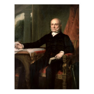 John Quincy Adams Post Card