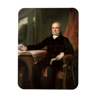 John Quincy Adams Rectangular Photo Magnet