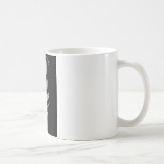 John Quincy Adams silhouette Coffee Mug
