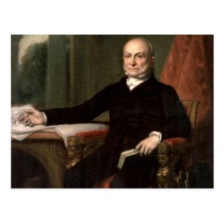 John Quincy Adams Tarjeta Postal