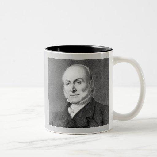 John Quincy Adams Taza De Dos Tonos
