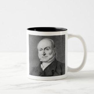 John Quincy Adams Two-Tone Coffee Mug
