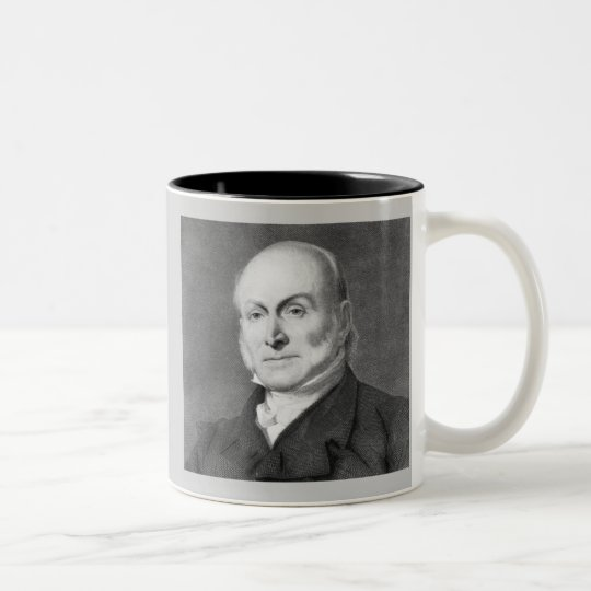 John Quincy Adams Two-Tone Coffee Mug