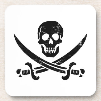 John Rackham (Calico Jack) Pirate Flag Jolly Roger Coaster
